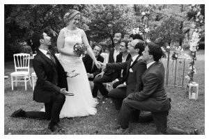 formation photo mariage noir et blanc