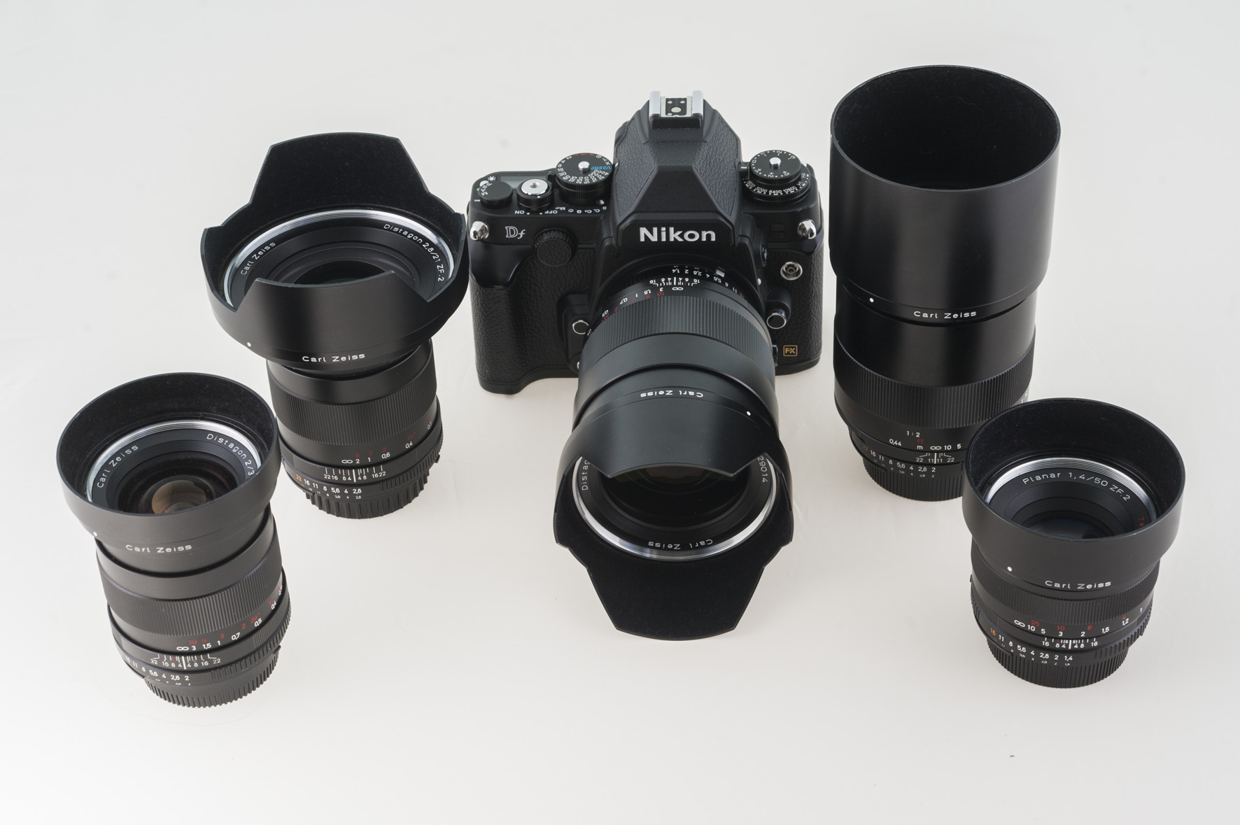 Photographe professionnel : gamme ZEISS ZF2