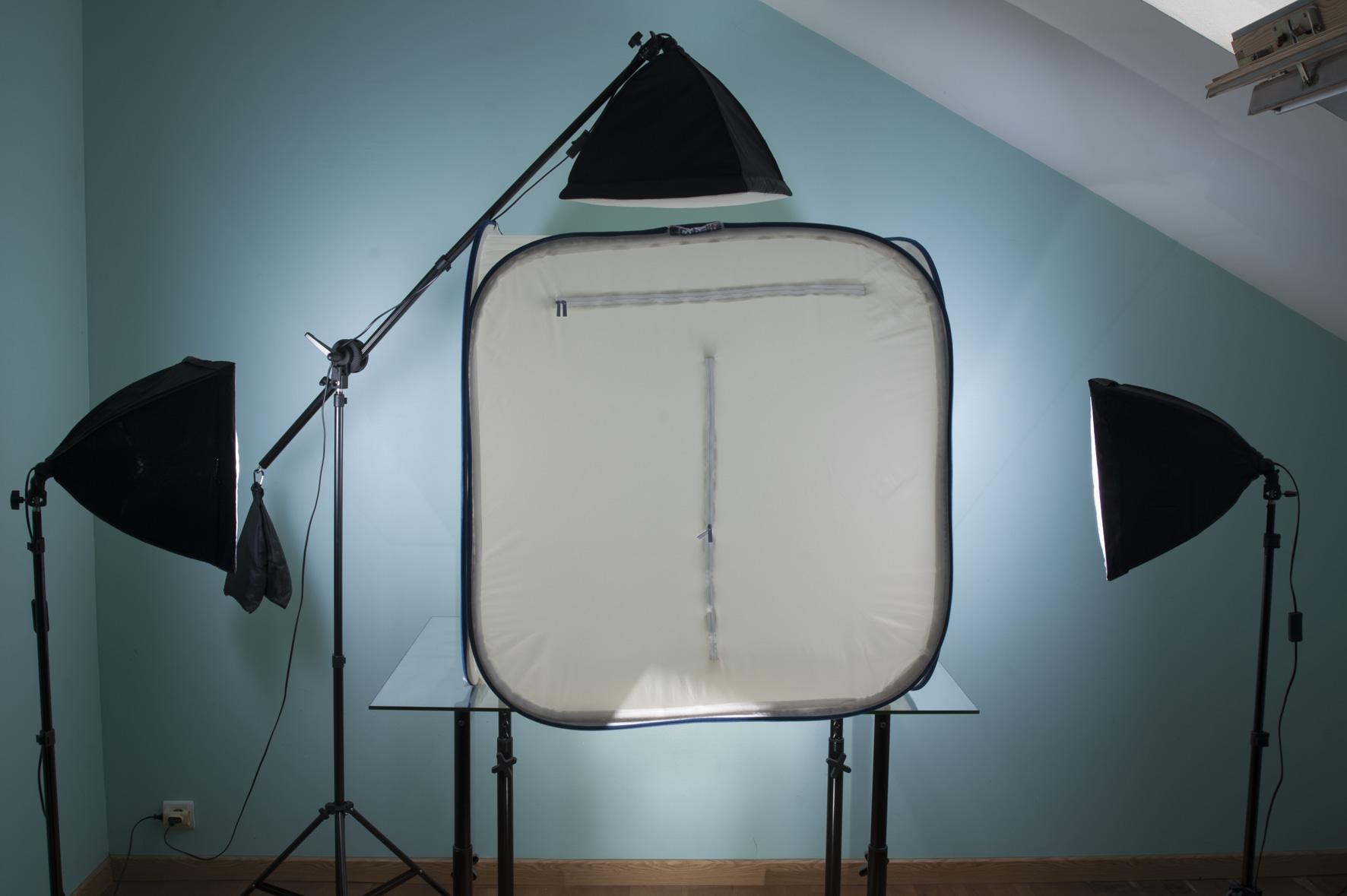 Photographe professionnel : studio gros objets